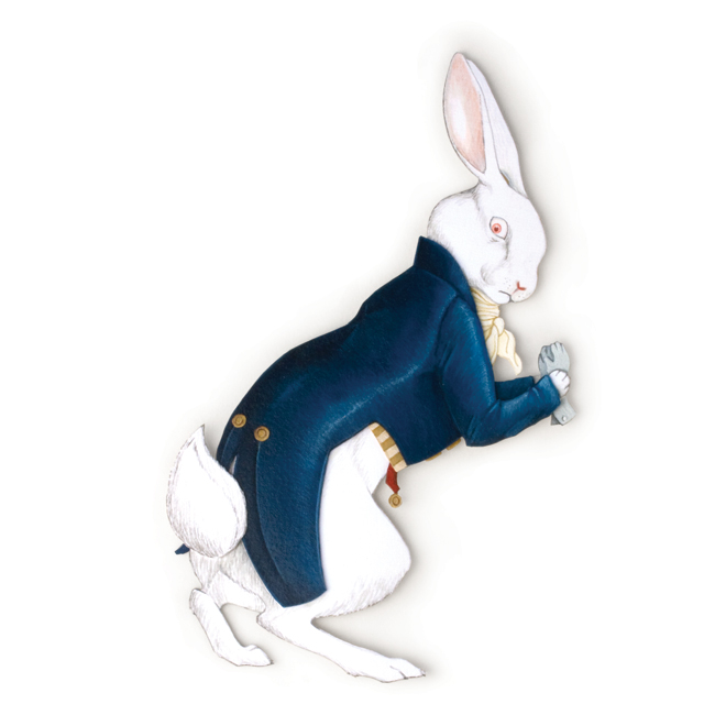 <h3>The White Rabbit</h3>